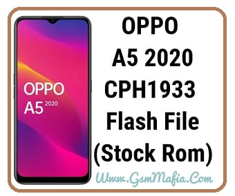 Oppo A5 2020 flash file