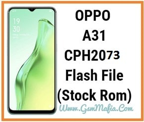 oppo a31 flash file
