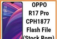 oppo r17 pro flash file