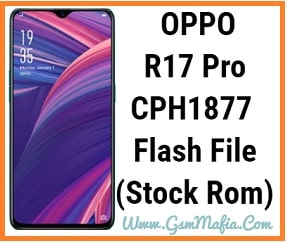 oppo r17 pro flash file