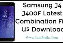 samsung j400f combination file u5