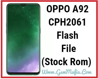 oppo a92 flash file
