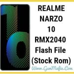 realme narzo 10 flash file