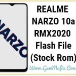 realme narzo 10a flash file