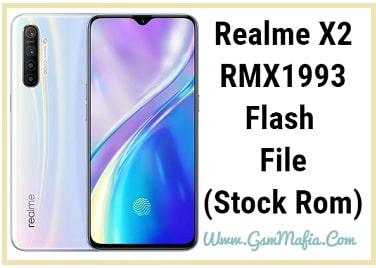 realme x2 flash file