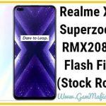 realme x3 superzoom flash file