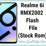 realme 6i flash file