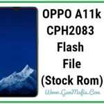 oppo a11k flash file