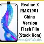 realme x china flash file
