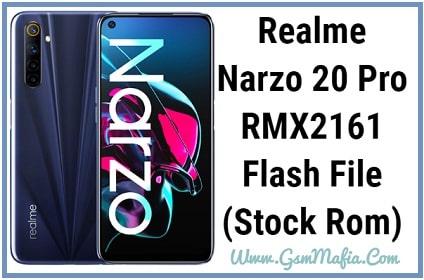 realme narzo 20 pro flash file