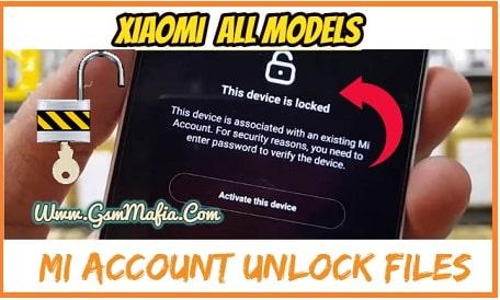 MI Account unlock file