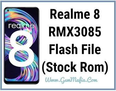 realme 8 flash file