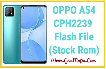 oppo a54 flash file